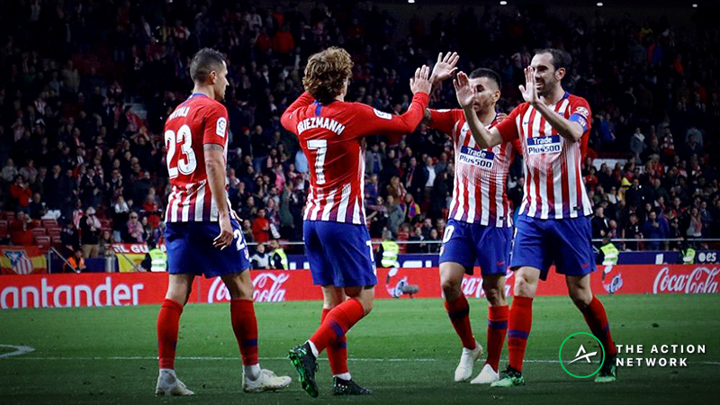 Barcelona-Atletico Madrid Betting Odds, Preview: Can Barca Wrap Up La Liga? article feature image