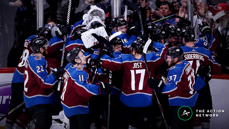 NHL Playoffs Betting Odds, Previews: Can the Avalanche Upset the Flames Again? article feature image