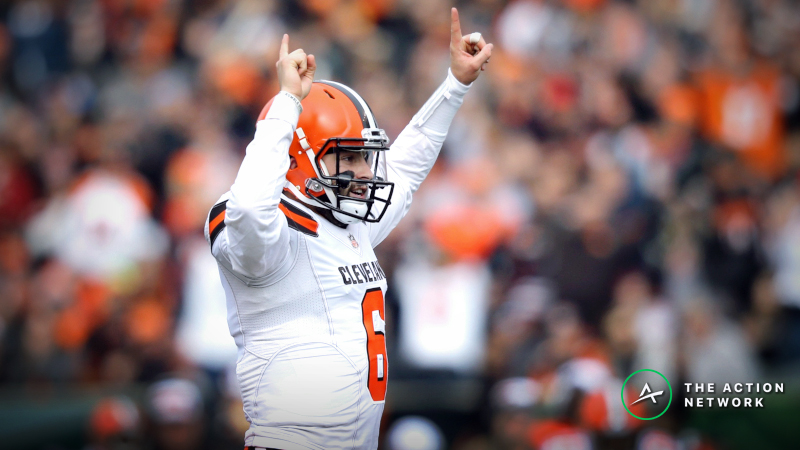 2019 NFL Week 1 Schedule, Odds: New-Look Browns Favored Over Titans article feature image