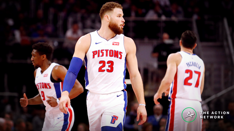 Bucks vs. Pistons Game 3 Betting Preview: Will Blake Griffin Save This Series? article feature image