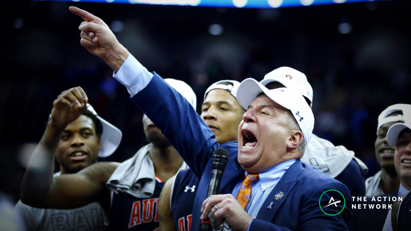 Auburn a Tremendously Popular Underdog Among Early Final Four Bettors article feature image