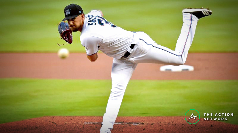 MLB Player Props: Can Caleb Smith Strikeout Six Braves? article feature image