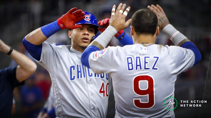 MLB Sharp Report: Pros Betting Cubs-Brewers, 2 Other Friday Games article feature image