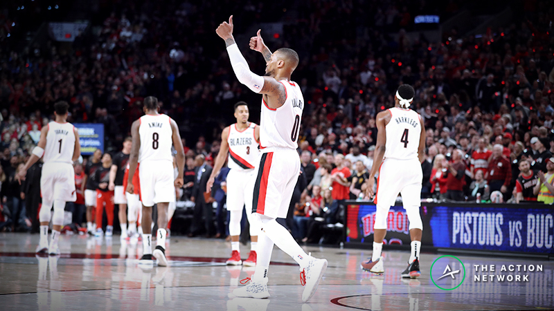 Wake and Rake: Sharps Betting Trail Blazers-Thunder on Easter Sunday article feature image