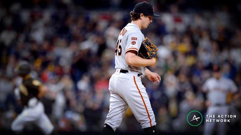 MLB Daily Betting Model, 4/3: Back the Giants on the Road? article feature image