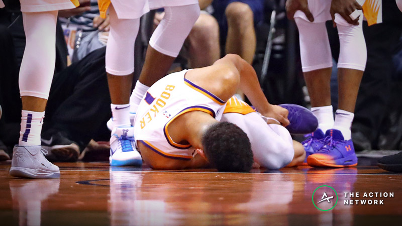 Friday's NBA Injury Report: Betting, DFS Impact of Luka Doncic, Devin Booker Injuries article feature image
