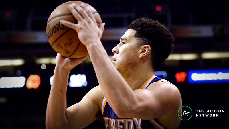 Raybon's Favorite NBA Props for Monday: Will Devin Booker Score 34 Points? article feature image