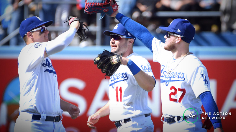 MLB Sharp Report: Pros Betting Reds-Dodgers, 2 Other Monday Games article feature image