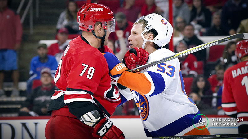 Islanders vs. Hurricanes Game 1 Betting Odds, Preview: Styles Make Fights article feature image