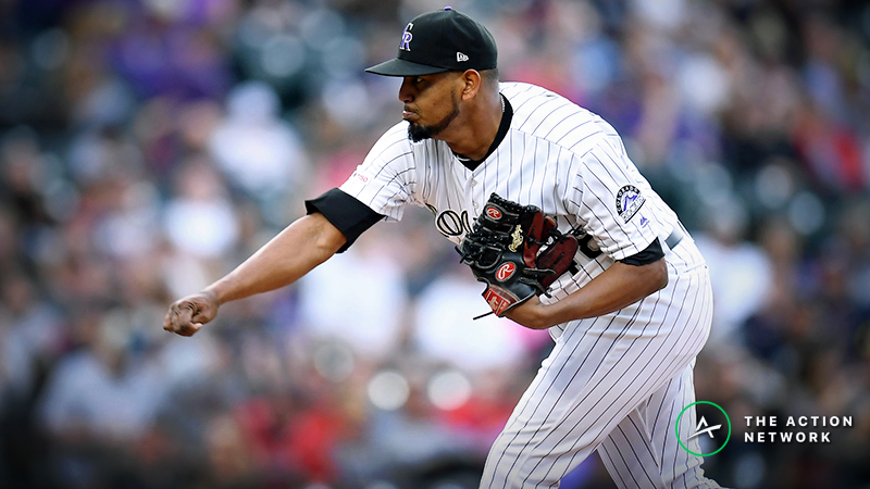 MLB Daily Betting Model, 4/19: Can German Marquez Continue the Rockies' Winning Streak? article feature image