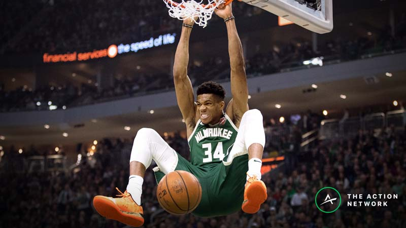 Bucks-76ers Betting Preview: Can Giannis & Co. Clinch the East in Philly? article feature image