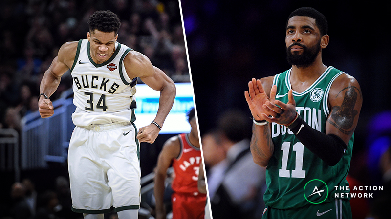 Bucks vs. Celtics Series Betting Preview: Bet on Overs Early article feature image