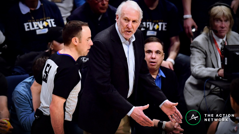 Sharp Bettors Back to Old Habits for Spurs-Nuggets Game 7 article feature image