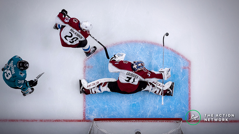 NHL Playoffs Game 2 Odds, Betting Previews: Hurricanes-Islanders, Avalanche-Sharks article feature image