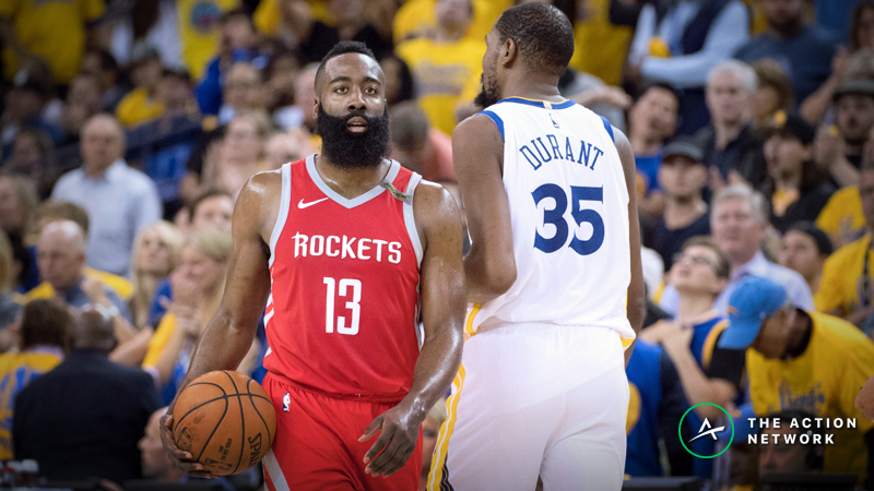 Warriors vs. Rockets Game 1 Betting Preview: Is Houston Undervalued with a Rest Advantage? article feature image