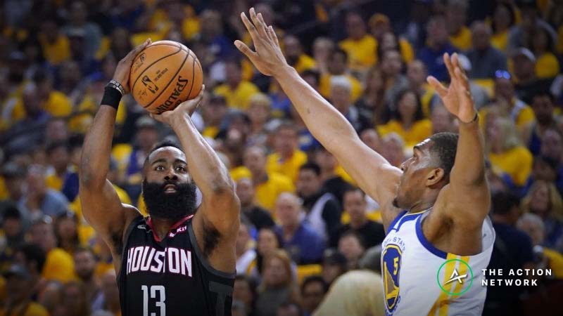 Moore: The Fouls the Refs Did (And Didn't) Miss in Rockets-Warriors Game 1 article feature image
