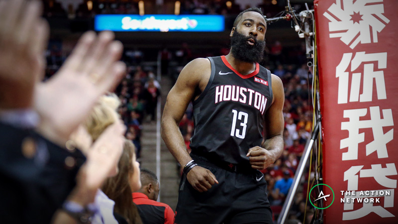 Jazz vs. Rockets Game 1 Betting Preview: Lay the Points With Harden & Co.? article feature image