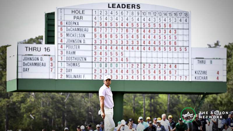 2019 Masters Final Round Tee Times: Tiger Woods, Francesco Molinari Begin at 9:20 a.m. article feature image