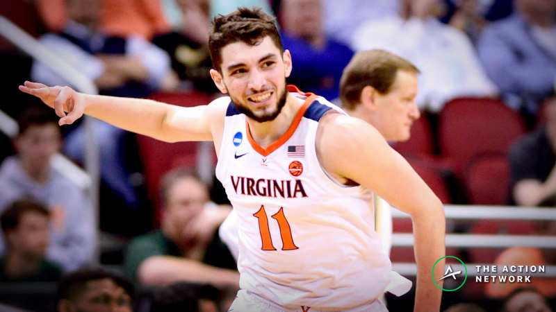 Virginia Favored Over Michigan State in National Championship Lookahead Lines article feature image