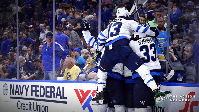 NHL Playoffs Betting Odds, Previews: Will the Blues Finish the Jets? article feature image