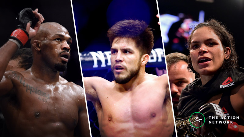 UFC Betting Odds: Look Ahead Lines for Spring and Summer 2019 article feature image