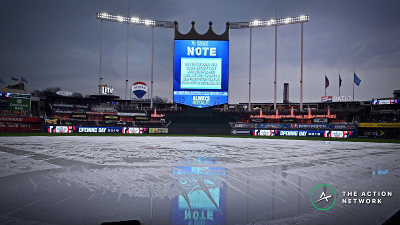 MLB Weather Forecast: Storms Impacting Several Games in the Midwest article feature image