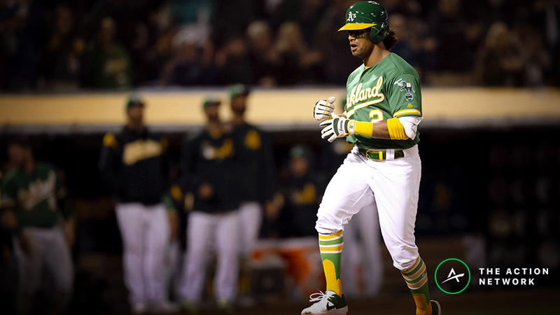 MLB Daily Betting Model, 4/16: Athletics a Live Dog vs. Astros, McHugh? article feature image