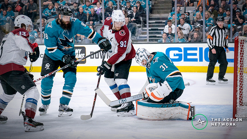 Avalanche vs. Sharks Game 1 Betting Odds, Preview: Which Version of the Avs Shows Up? article feature image