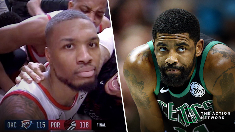 """Wob: Dame vs. Kyrie and the Guide to Ending Every """"Who is Better?"""" NBA Argument article feature image"""