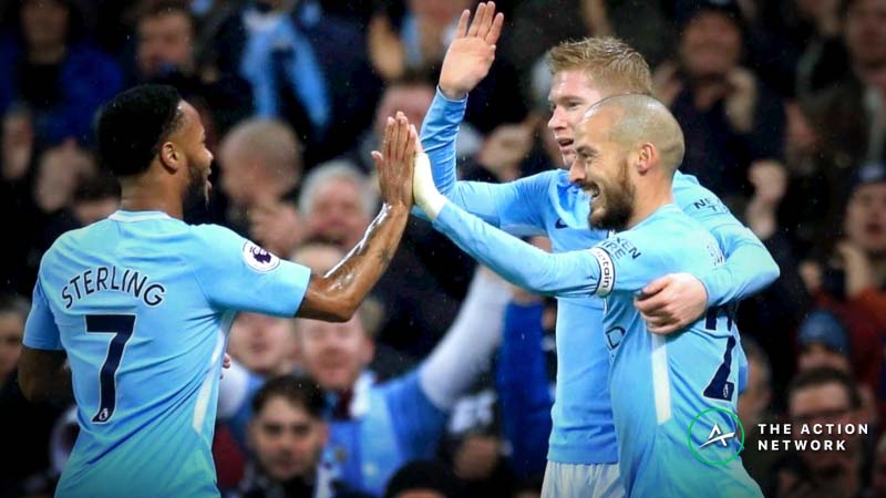 Sharp Money On Manchester City to Beat Tottenham in Champions League Quarterfinal article feature image