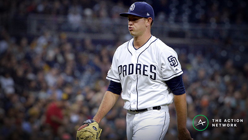 MLB Daily Betting Model, 4/29: Margevicius vs. Soroka Is a Sneaky Pitchers' Duel article feature image