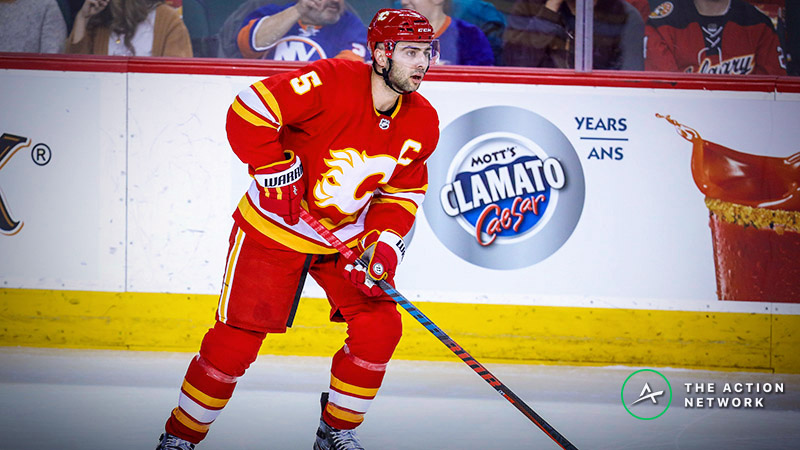 NHL Playoffs Game 4 Betting Odds, Preview: The Flames Are in Trouble article feature image