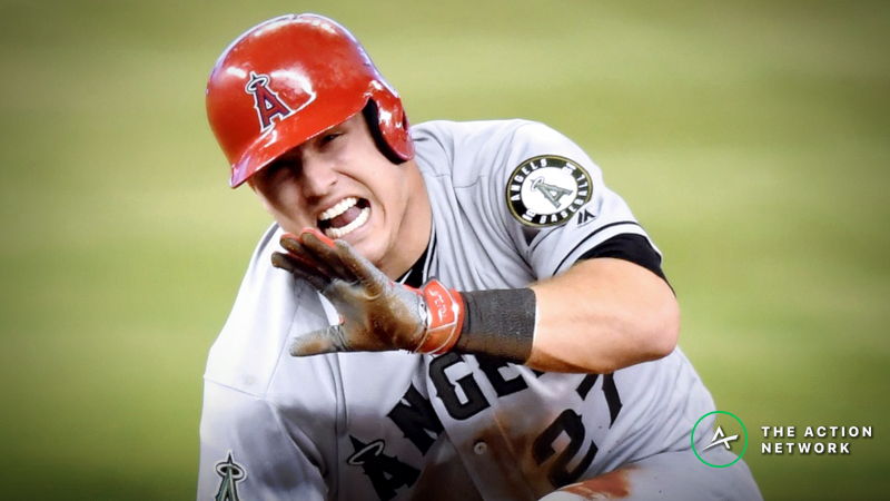 Mike Trout Injury Causing Major Line Movement vs. Brewers article feature image