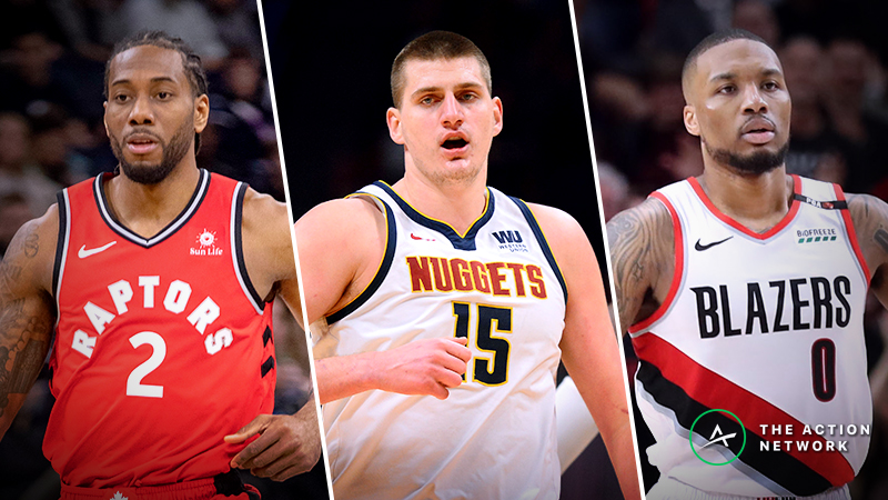 Moore: Game 2 Picks and Matchup Analysis for Raptors-Magic, Nuggets-Spurs, Thunder-Blazers article feature image
