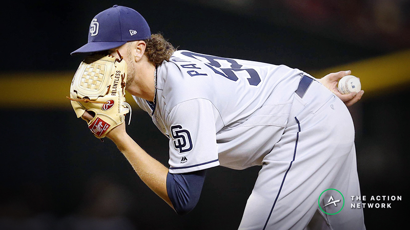 MLB Daily Betting Model, 4/24: Will Chris Paddack Quiet the Mariners? article feature image