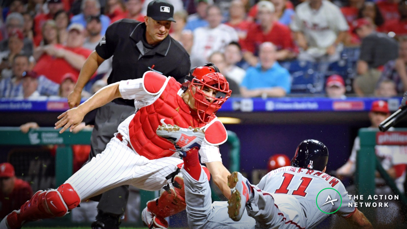 MLB Sharp Report: Pros Betting Nationals-Phillies, 2 Other Tuesday Games article feature image