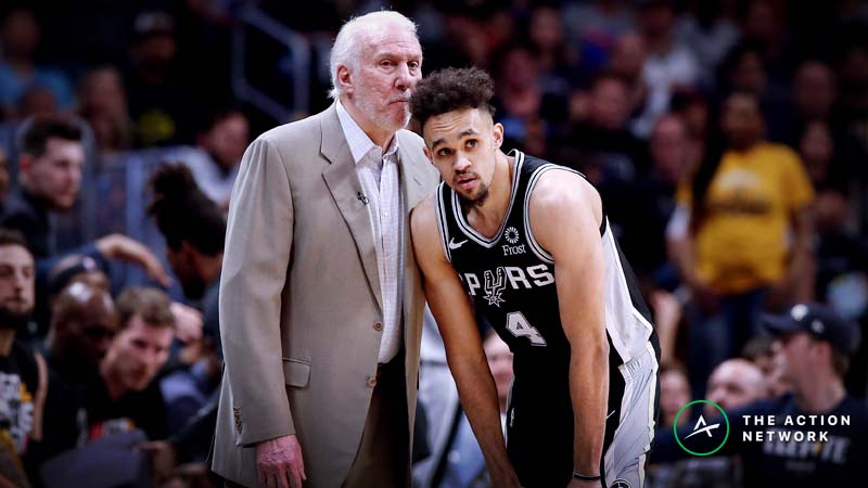 Nuggets vs. Spurs Game 3 Betting Preview: Gregg Popovich Dominates as a Home Playoff Favorite article feature image