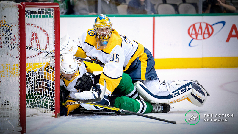 Stars vs. Predators Series Betting Odds, Preview: Will Big D Hold Up Against Nashville? article feature image