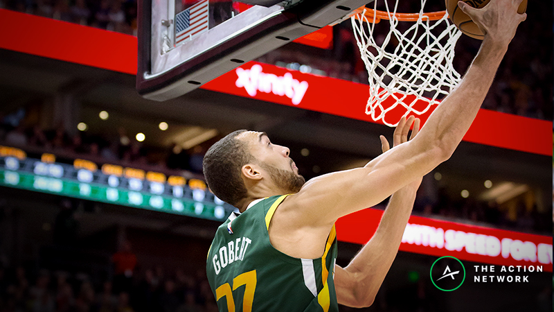 Raybon's Favorite NBA Props for Wednesday: Will Rudy Gobert Drop 17 Points? article feature image