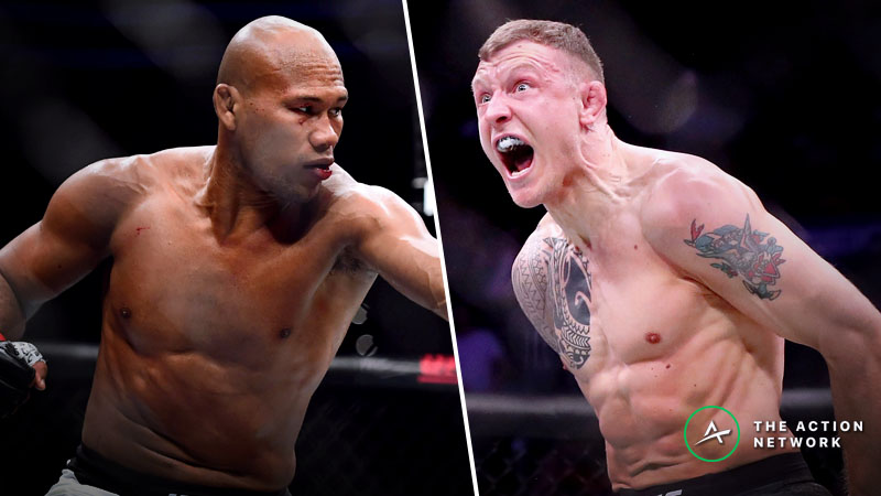UFC Fight Night 150 Betting Preview: Jack Hermansson Steps Up Against Jacare Souza article feature image