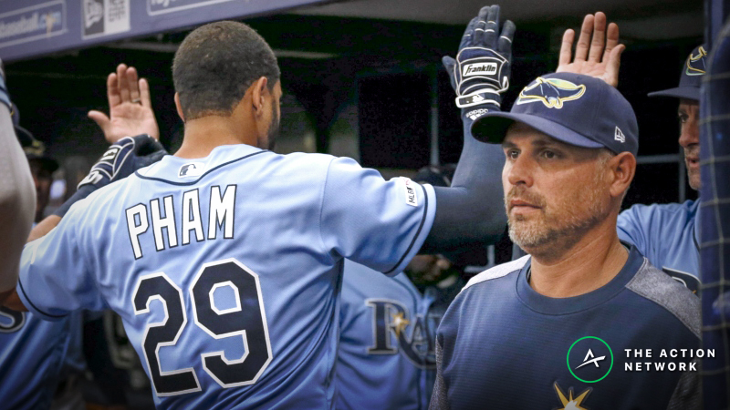 MLB Sharp Report: Pros Betting Rockies-Rays, 2 Other Monday Games article feature image