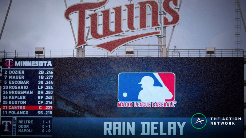 MLB Wednesday Forecast: Gloomy Weather Could Impact Games in Texas, Minnesota article feature image