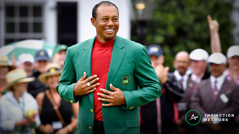 Tiger Woods' Masters Win Costs Three Different Sportsbooks 7 Figures article feature image