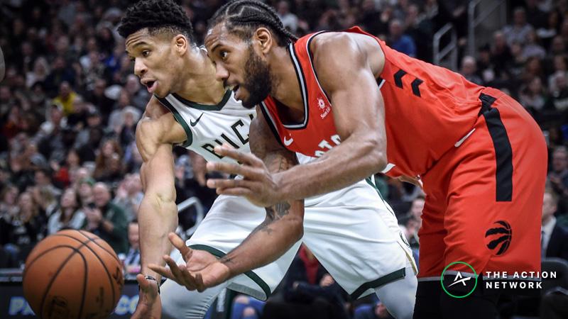 Updated Eastern Conference Finals Series Odds, Schedule: Bucks vs. Raptors article feature image