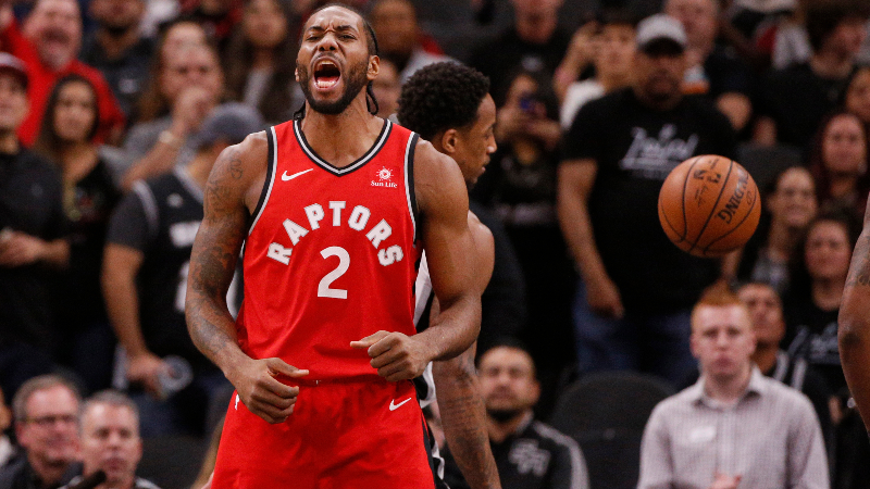 Raptors Are Second-Biggest Underdogs to Win NBA Championship Since 1985 article feature image