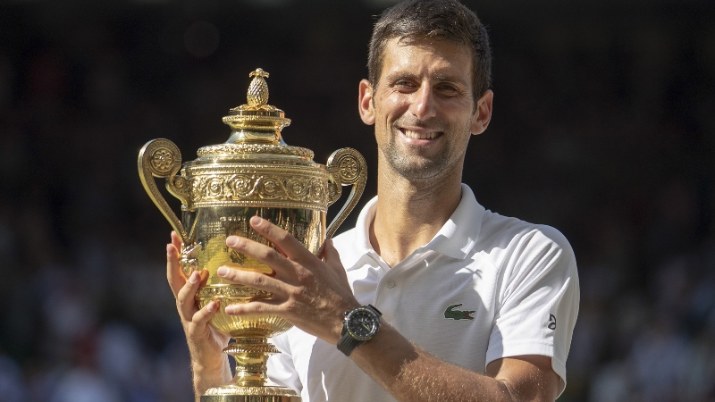 2019 Wimbledon Odds: Djokovic the Favorite, Federer Not Far Behind article feature image