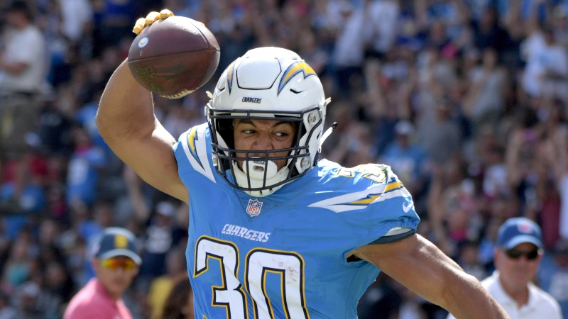 Koerner's Undervalued Upside Ratings: Fantasy Running Backs to Draft and Stash article feature image