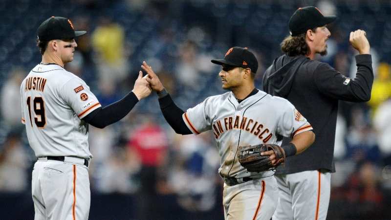 BlackJack's Favorite Wednesday MLB Bet: Will Giants Complete the Sweep vs. Padres? article feature image