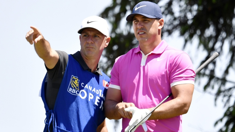 Does Brooks Koepka's Caddie Give Him An Edge in 2019 British Open at Royal Portrush? article feature image