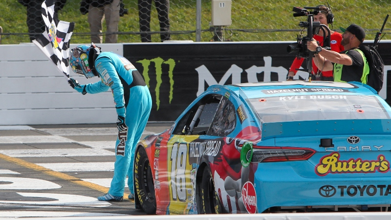 NASCAR Power Rankings: Kyle Busch the Championship Favorite in Las Vegas article feature image